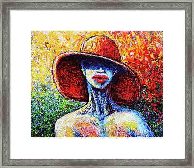 Summer Framed Print by Viktor Lazarev