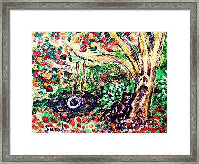 Summer Went By Too Quickly 2 Framed Print by Sarah Loft