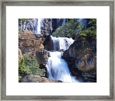 Framed Print featuring the photograph Summer White Water by Al Fritz