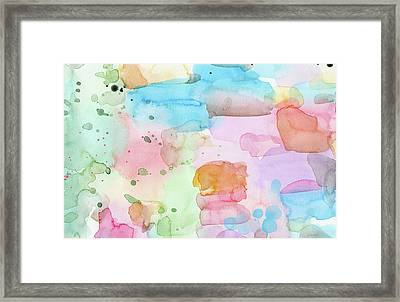 Summer Wonder- Art By Linda Woods Framed Print