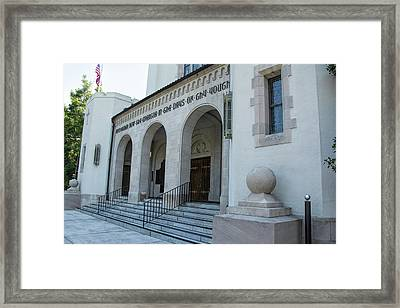 Summerall Chapel II Framed Print