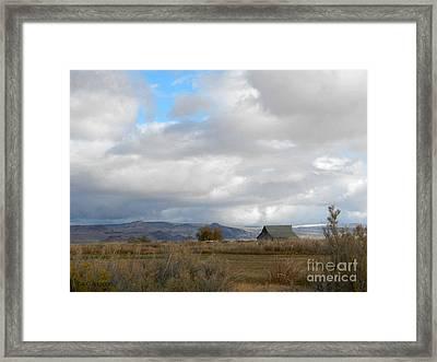 Summerlake Framed Print
