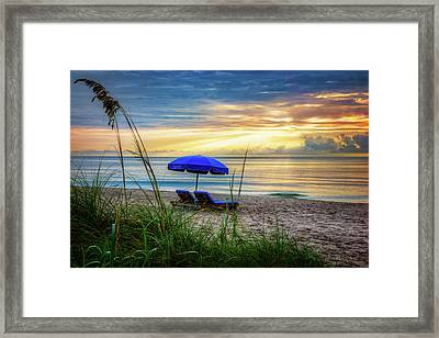 Framed Print featuring the photograph Summer's Calling by Debra and Dave Vanderlaan