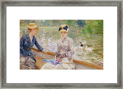 Summers Day Framed Print by Berthe Morisot
