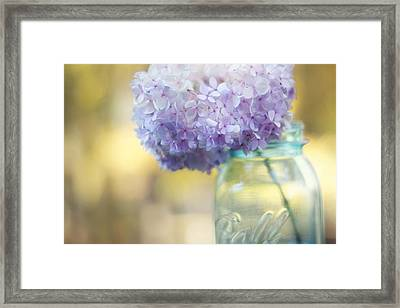 Summer's End Framed Print by Amy Tyler