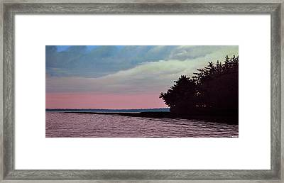 Summers Eve Framed Print by Kenneth M  Kirsch