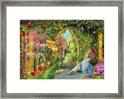 Summers Garden Framed Print