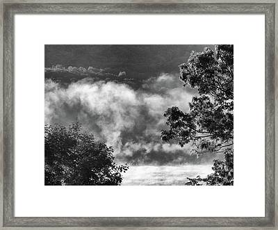 Framed Print featuring the photograph Summer's Leaving by Steven Huszar
