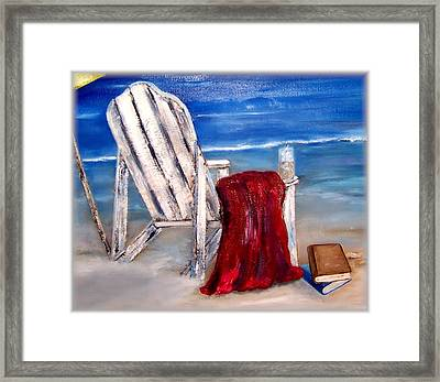Summers Over Framed Print by Penny Everhart