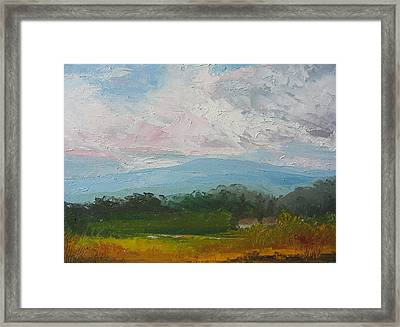 Summertime Framed Print by Belinda Consten
