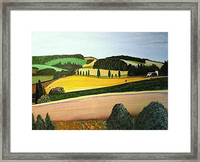 Summertime Framed Print by Bill OConnor