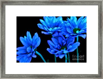 Summertime Blues Framed Print by Krissy Katsimbras