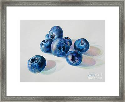 Summertime Blues Framed Print by Pamela Clements