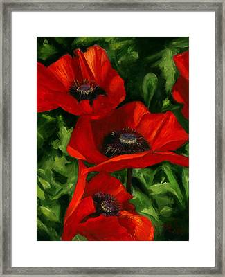 Summertime Festival Framed Print by Billie Colson
