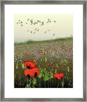 Summertime Framed Print by Gerlinde Keating - Galleria GK Keating Associates Inc