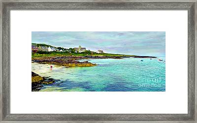 Summertime, Isle Of Iona Framed Print