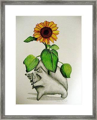 Summertime Framed Print by Marita McVeigh
