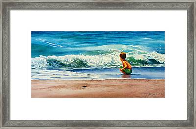 Summertime Pals Framed Print by Bob Nolin