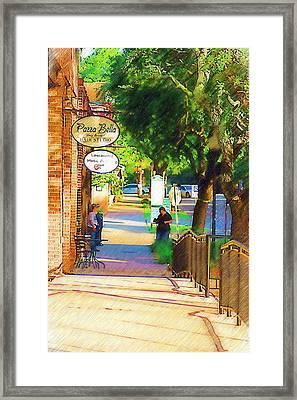 Summerville Sc Framed Print by Donna Bentley