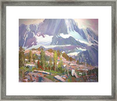 Summit Framed Print by Brian Simons