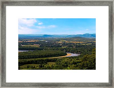 Summit House View Framed Print