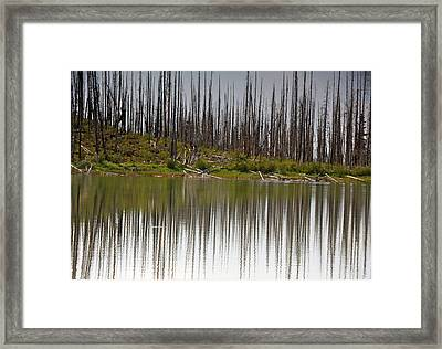 Summit Lake Framed Print