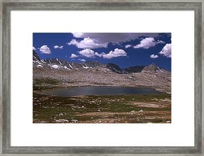 Summit Lake - Humphrey's Basin Framed Print by Soli Deo Gloria Wilderness And Wildlife Photography