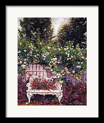 Cut Flowers Paintings Framed Prints