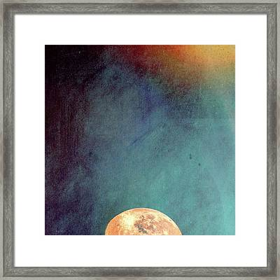Sun And Moon Framed Print by Bob Orsillo