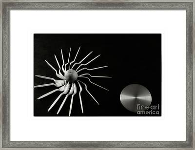 Sun And Moon Framed Print by Jimmy Ostgard