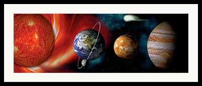 Planet Photographs Framed Prints