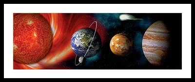 Planets Framed Prints