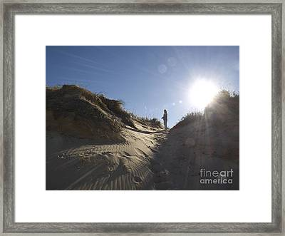 Framed Print featuring the photograph Sun And Sand  by Tara Lynn