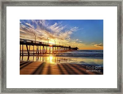 Sun And Shadows Framed Print