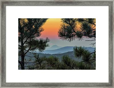 Sun Appears Framed Print