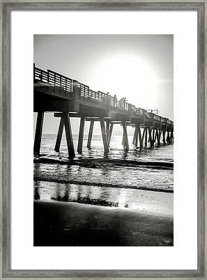 Framed Print featuring the photograph Sun Bathe by Eric Christopher Jackson
