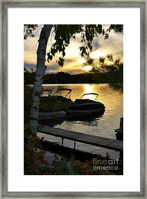 Sun Beams Framed Print