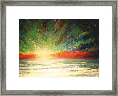 Sun Bliss Framed Print by Naomi Walker