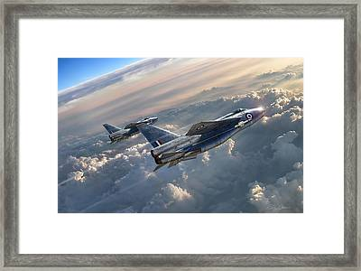 Sun Chasers Framed Print by Peter Chilelli