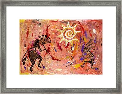 Sun Dance Framed Print by Paul Tokarski