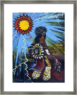 Sun Dancer Framed Print by Karon Melillo DeVega