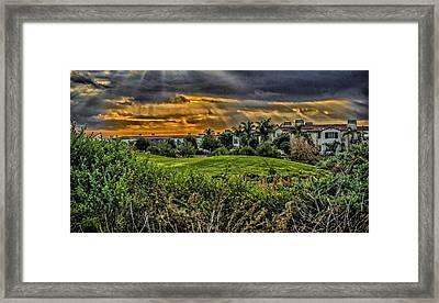 Sun Dome Framed Print by Joseph Hollingsworth