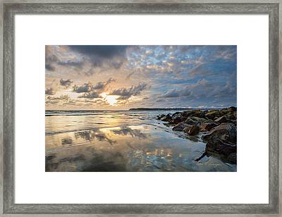 Sun Drenched Framed Print