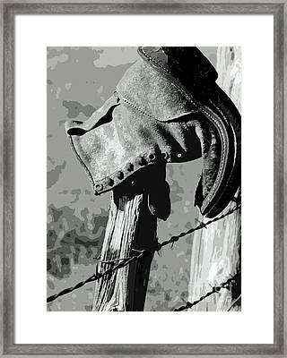 Sun Dried Framed Print