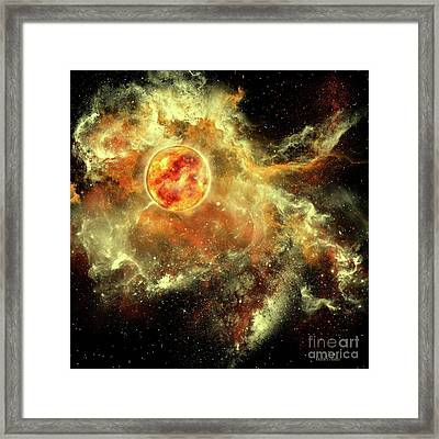 Sun Evolution Framed Print by Corey Ford