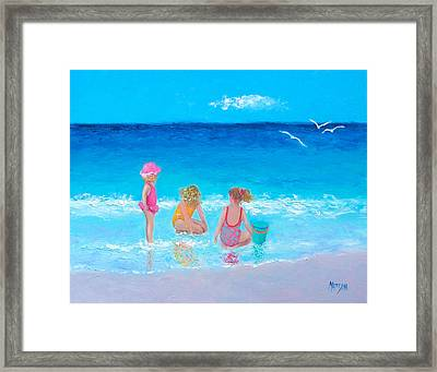 Sun Filled Days Framed Print