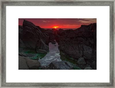 Sun Flare Framed Print by William Sanger