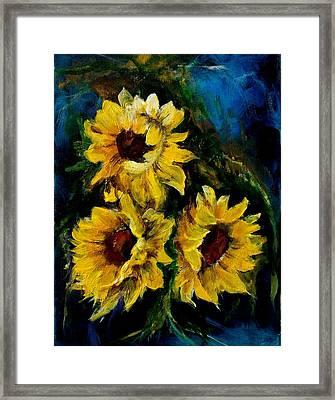 Sun Flowers 1 Framed Print