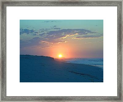 Framed Print featuring the photograph Sun Glare by  Newwwman