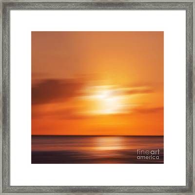 Sun Impressions Framed Print by Angela Doelling AD DESIGN Photo and PhotoArt